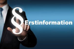 Die Erstinformation der PSW Versicherungsservice