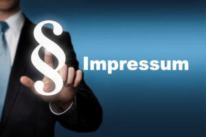 Das Impressum der PSW Versicherungsservice GmbH